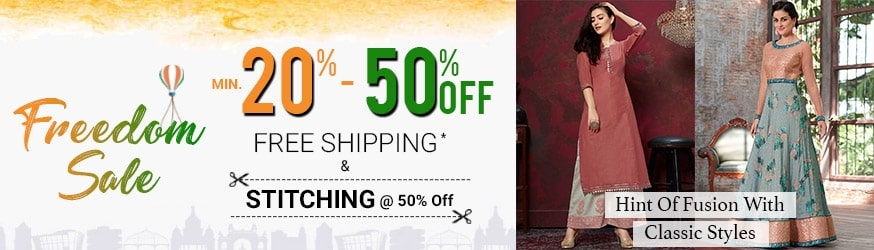 7749cc90275ad Indo Western Outfits: Buy Indo Western Dress for Women Online USA