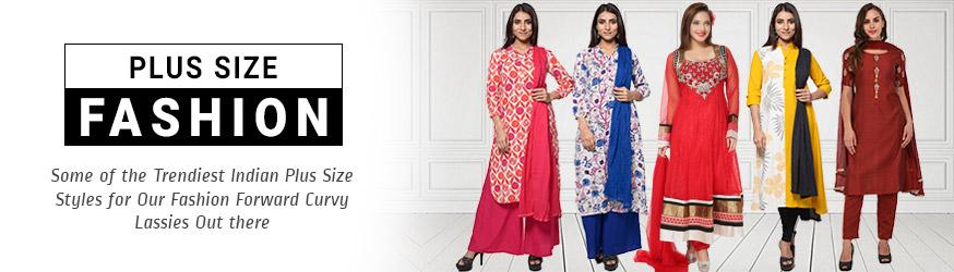 Buy Plus Size Ethnic Salwar Kameez Online Panashindia