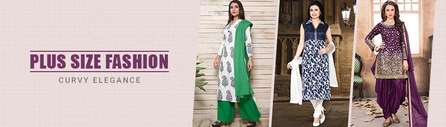 1bd35bec183 Plus Size Salwar Suits  Buy Plus Size Salwar Kameez Online USA