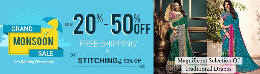 bfeece5349 Indian Saree - Latest Indian Sarees (Sari) Online Shopping USA, UK