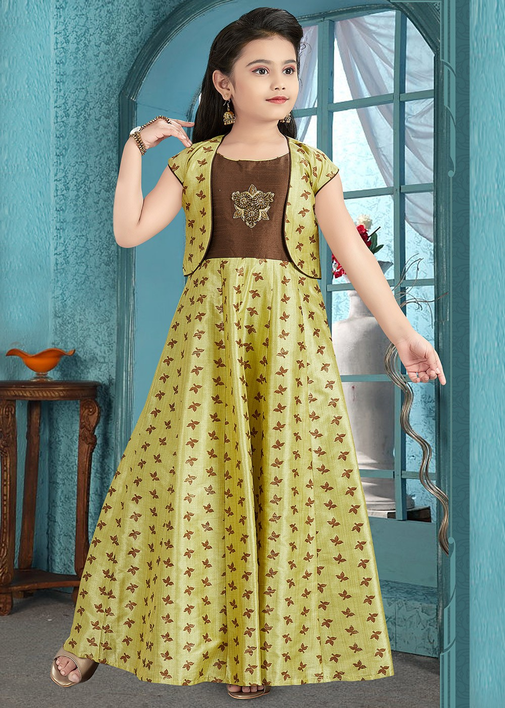 ready made children gown styles