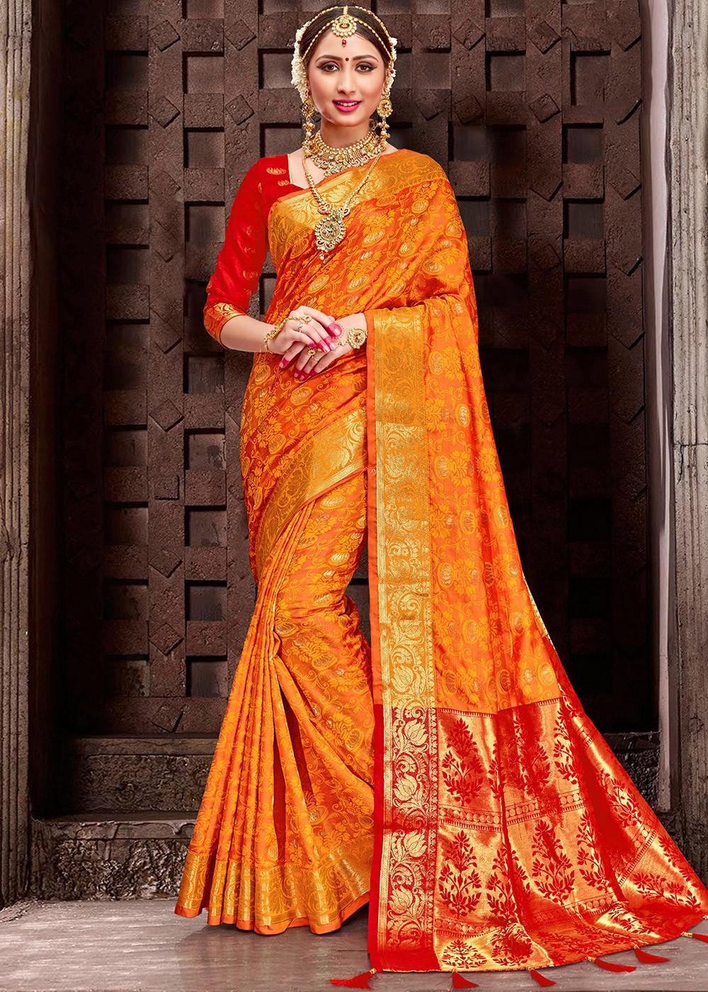 E757,E758,E759,E760 Details about  /Indian Woven Sari Patola Silk Saree For Women