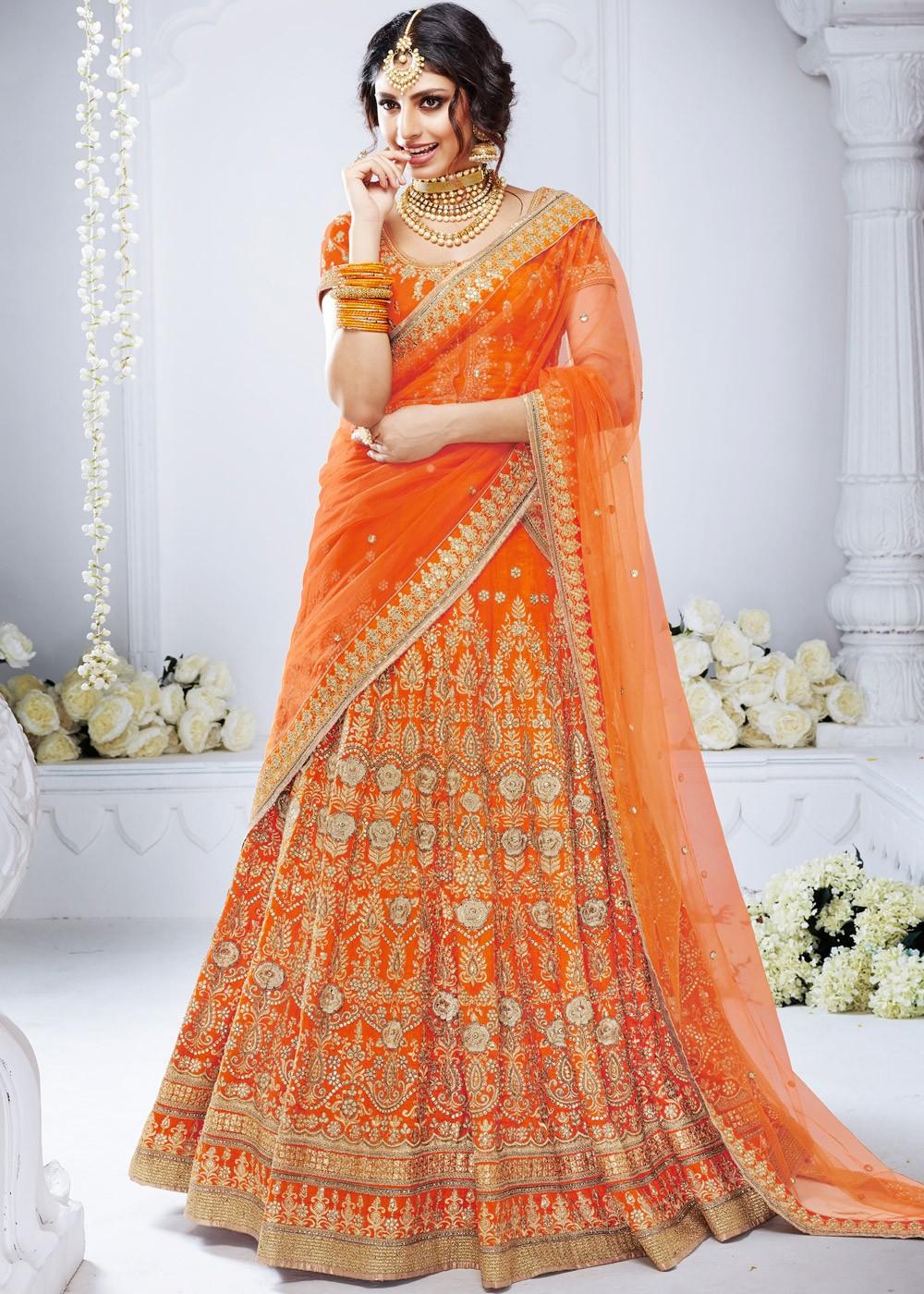 Black Lehenga Choli Chunri Designer Wedding Wear Lengha Indian Lahanga Sari Silk