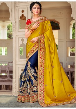 cee4a3900a0 Half Saree  Buy Stylish Indian Half and Half Sarees Online USA