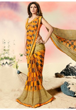 f38083baef Georgette Saree - Buy Stylish Indian Georgette Sarees Online USA