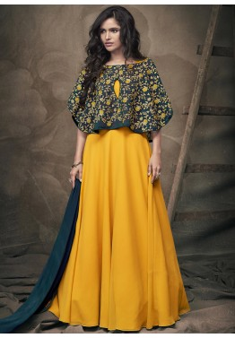 Indo Western Gown Buy Stylish Long Indian Gowns Online For Party