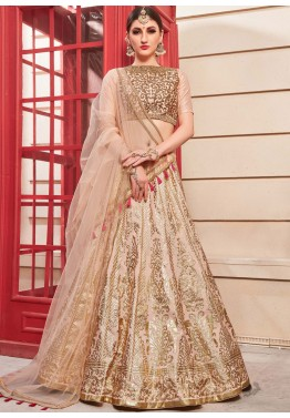 d3c6dc1c744116 Pastel Pink Embroidered Indian Lehenga Online Shopping in USA