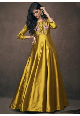 33b04e6c5c4 Indo Western Gown  Buy Stylish Long Indian Gowns Online USA
