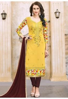 ab0c549d0d Chanderi Suits - Buy Designer Chanderi Salwar Kameez Online