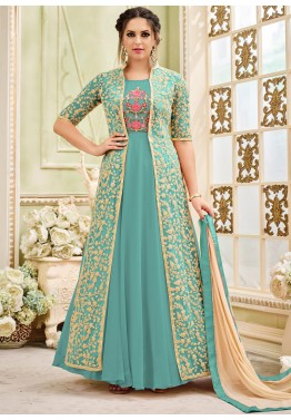 Jacket Style Salwar Kameez Online Shopping For Salwar Suits