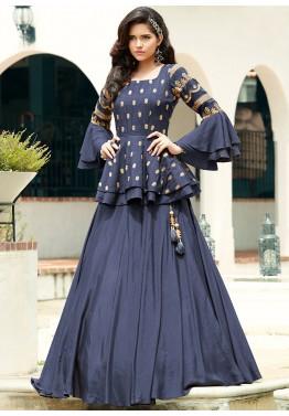 wedding indo western dress for girls