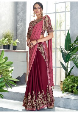 Heavy Pure Butterfly Net Saree Beautiful Sequence Foil Work Pure Malbari Silk Full Stitch Blouse With Mirror Work On Blouse
