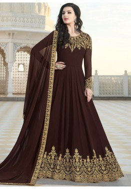 Brown Embroidered Pakistani Abaya Suit 2614sl08,Barefoot Contessa Meatloaf With Gravy