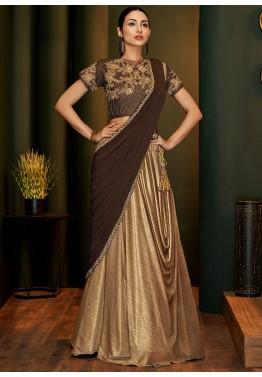 Lehenga Style Sarees Buy Latest Designer Lehenga Sarees Online