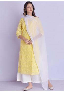 Indian Traditional Kurta Kurti Palazzo Set Designer Readymade Salwar Kameez Suit