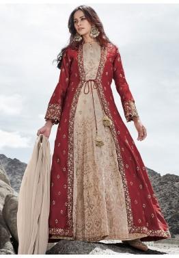 Jacket Style Salwar Kameez Online Shopping For Salwar Suits