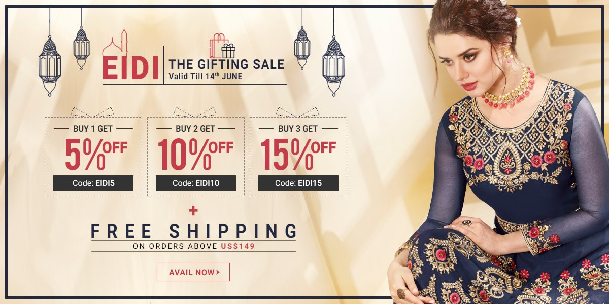 Eidi The Gifting Sale! on Indian Wedding Dresses