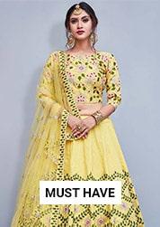 8c47581c90b054 Lehenga Choli - Buy Latest Designer Indian Lehenga Choli Online USA